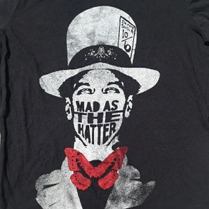 True Vintage sz sm Mad as the Hatter tee